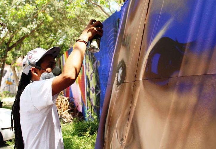 Durante el festival habrá pinta de muros, foros y talleres. (Octavio Martínez/SIPSE)