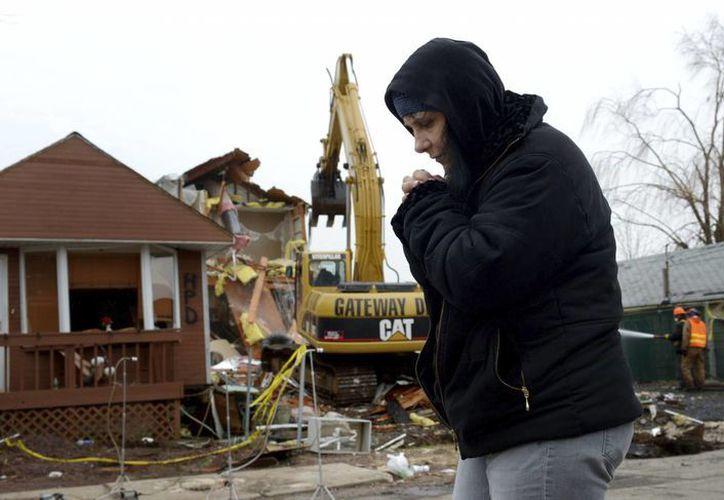 Zonas de Nueva York aún muestran cicatrices del desastre de 'Sandy'- (EFE)