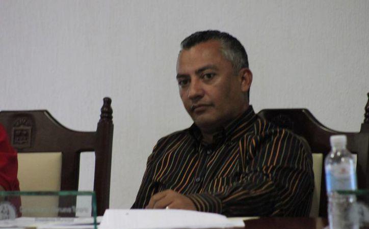 Villanueva Tenorio manifestó que hay avances importantes respecto al contrato del empréstito. (Juan Palma/SIPSE)