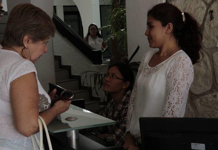 Con la Jornada de Trámites y Descuentos la recaudación aumentó 3.5 millones de pesos diarios. (Tomás Álvarez/SIPSE)