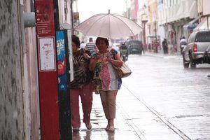 Por fin llovió en Mérida