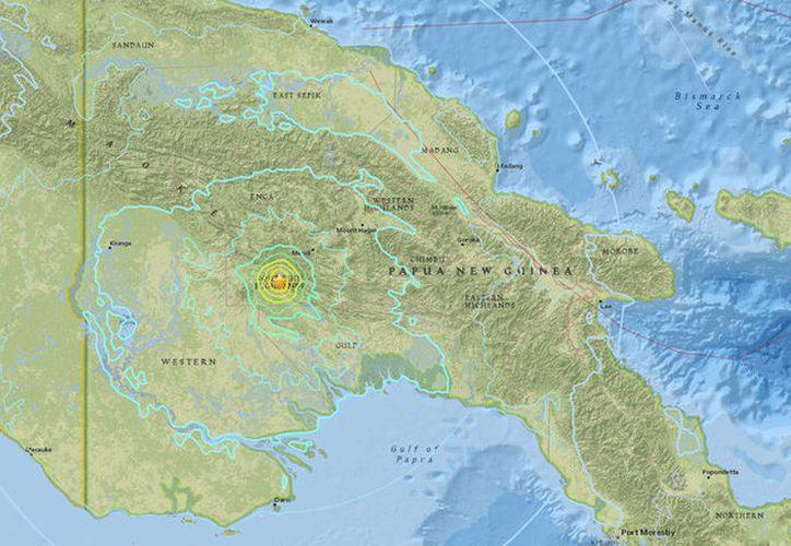 Un intenso sismo de magnitud 6,3 ha sacudido este lunes la parte central de Papúa Nueva Guinea. (Earthquake)