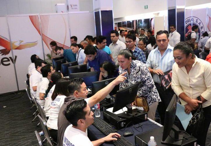 La Feria del Empleo de Grupo Modelo superó por mucho las expectativas de los organizadores. (Foto de archivo de Milenio Novedades)