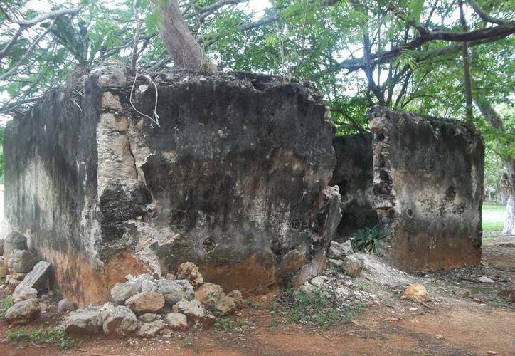 Esta es la vivienda e Labná en donde vivió en forma temporal la hechicera Monia. (Jorge Moreno/SIPSE)