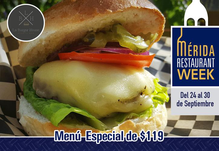 Del 24 al 30 de Septiembre de 2018 cientos de restaurantes de Mérida, Yucatán ofrecen lo más representativo de su cocina en un menú especial de $119.  (Facebook)