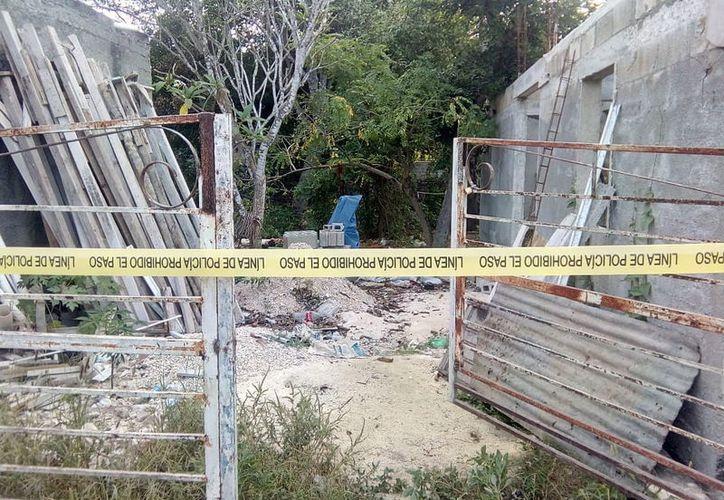 Un sujeto de 32 años se ahorcó en el patio de su casa, en Umán. (Foto: Milenio Novedades)