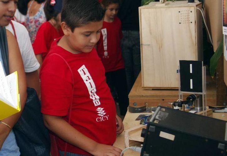 El curso del CICY cerró con la presentación de 14 proyectos diseñados por los niños participantes. (Christian Ayala/SIPSE)