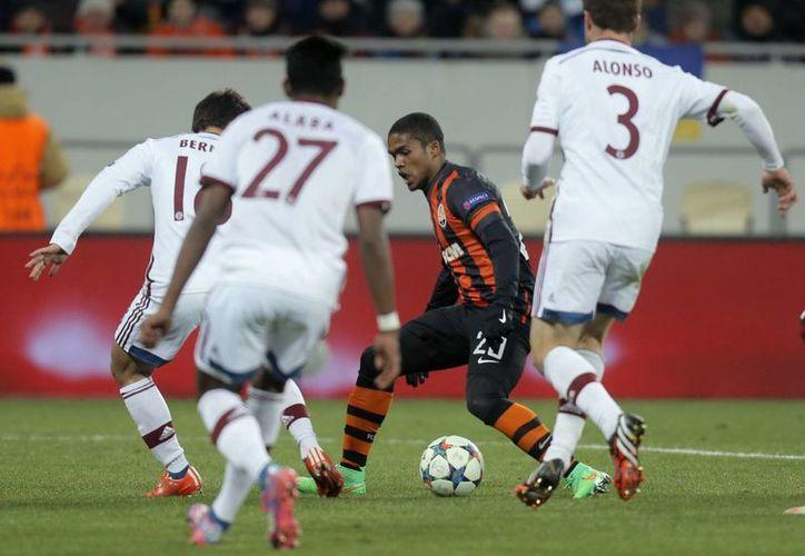 Un empate con goles en Munich le daría el pase al Shakhtar. (Foto: AP)