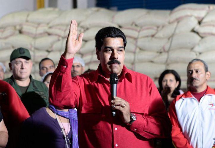 El vicepresidente de Venezuela, Nicolás Maduro, en imagen oficial proporcionada por el gobierno del país sudamericano. (Agencias)