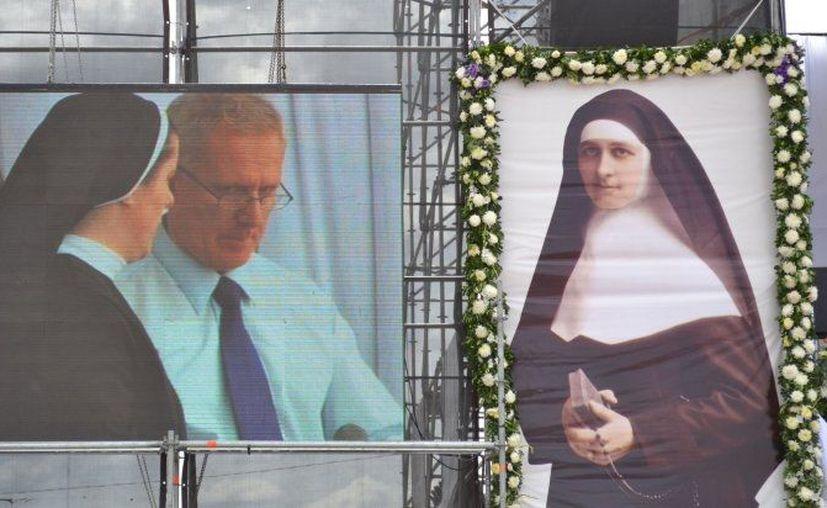 Casi 30 mil personas atestiguaron el acto de beatificación de Crescencia Pérez. (Internet)