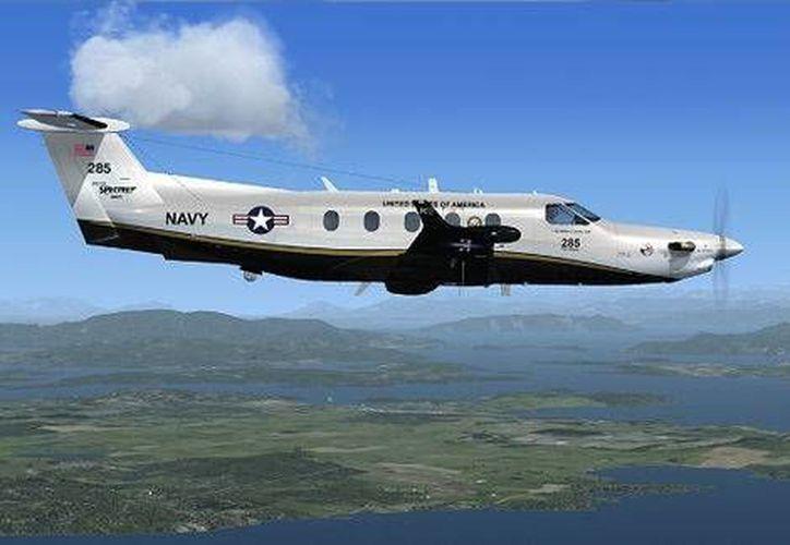 La aeronave que se suma a las labores de vigilancia entre Texas y México realizó uno de sus primeros vuelos entre San Antonio y Fort Stockton. (Milenio)