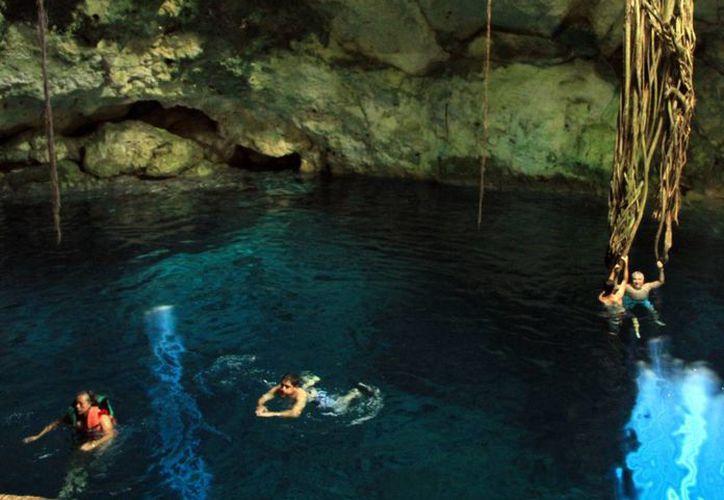 Promoverán visita a cenotes yucatecos. (Milenio Novedades)