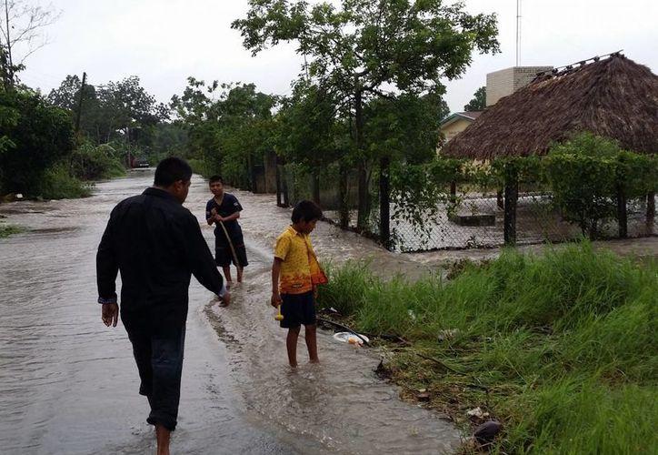 El municipio no cuenta con recursos para atender de manera individual las afectaciones registradas durante las lluvias que azotaron a la entidad hace unos días. (Paloma Wong/SIPSE)