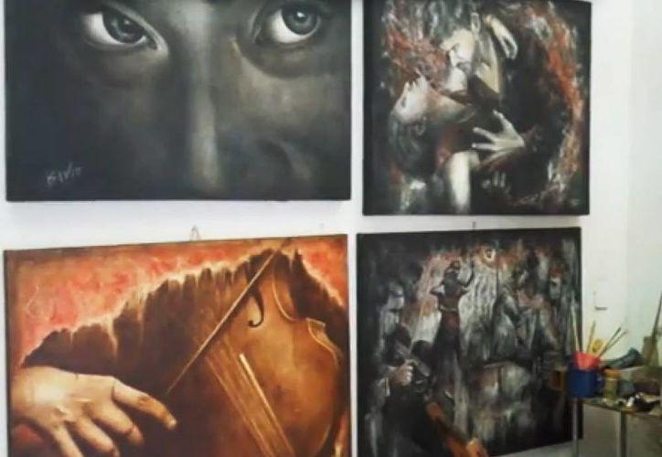 Imagen de una de las galerias que son parte del Circuito en Mérida. (Christian Coquet/SIPSE)