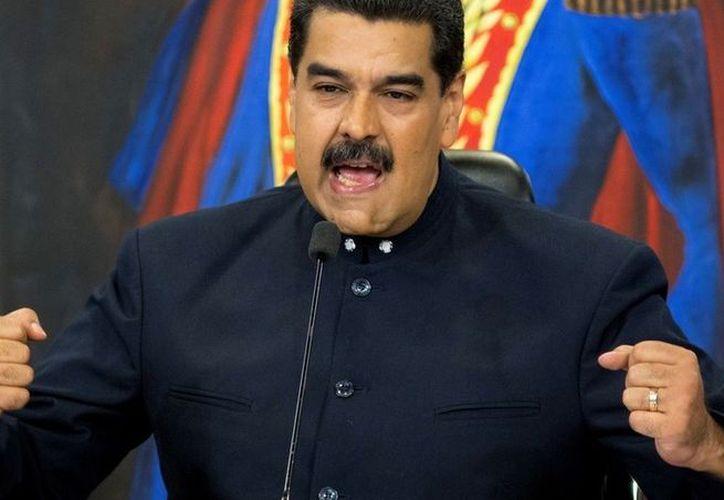 El presidente de Venezuela, Nicolás Maduro. (El Clarín)