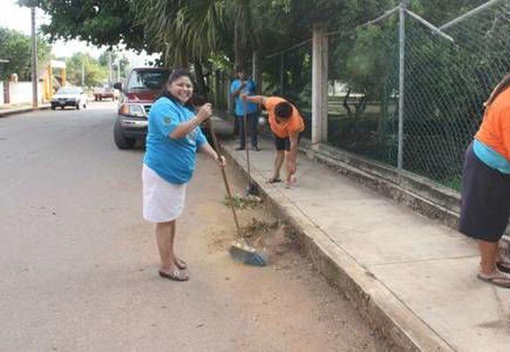 Las labores de limpieza recorrerán cada una de las colonias del municipio. (Redacción/SIPSE)