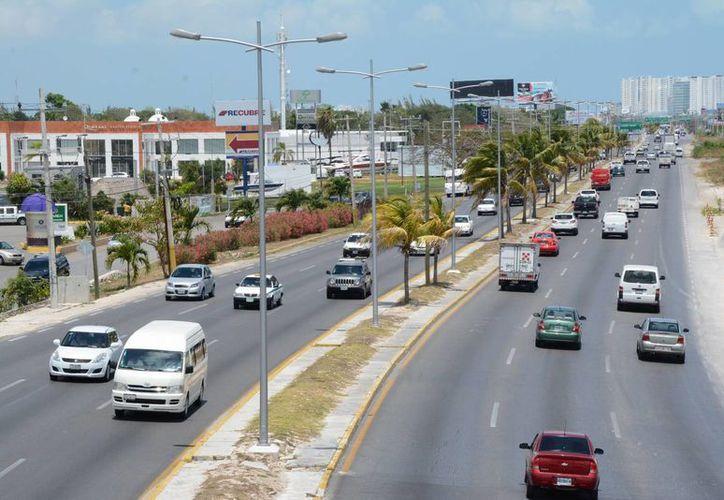 La homologación de la señalización será para aumentar los viajes por los caminos federales. (Victoria González/SIPSE)