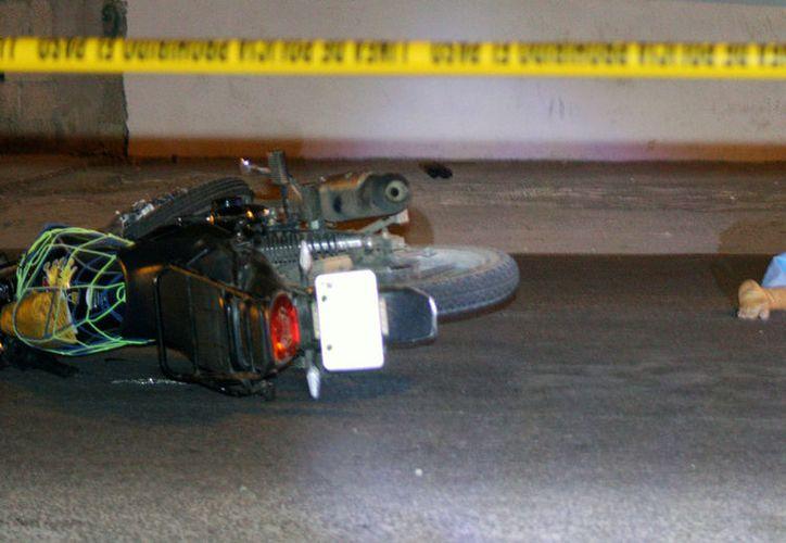 En lo que va del año, han muerto en accidentes de tránsito 100 personas, en Yucatán. (SIPSE)