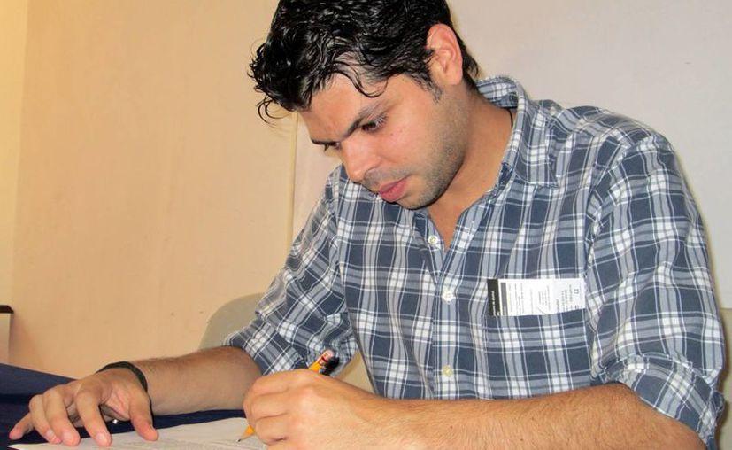 Juan Francisco Campos Gasque cuenta su testimonio a este medio. (Milenio Novedades)
