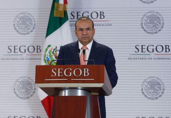 Alfonso Navarrete dijo que la Segob busca generar las mejores condiciones para que el voto ciudadano se exprese. (Foto: Milenio.com)