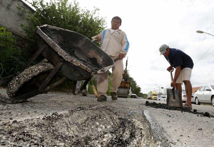 Las calles que más se reparan en Mérida son las de colonias antiguas y del centro de la ciudad. (SIPSE)