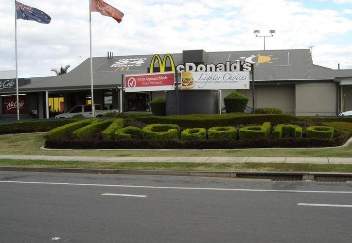 McDonalds registró una oleada de robos en sus restaurantes en las fiestas de fin de año. (Agencias)