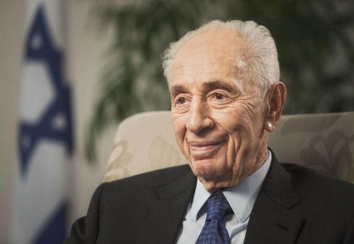 El expresidente israelí Shimon Peres fue hospitalizado este año en dos ocasiones por problemas de corazón. (AP/Dan Balilty)