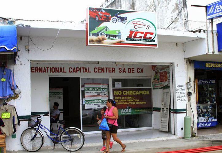 La casa de préstamos ICC, ha tenido mayor disponibilidad para agilizar los créditos que solicitaron. (Ángel Castilla/SIPSE)