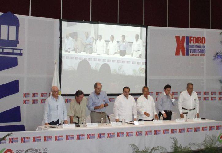 La XI edición del foro turístico se efectuó en el hotel Iberostar. (Israel Leal/SIPSE)