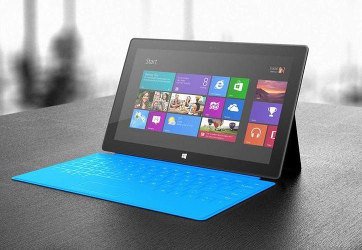 La Surface ha colocado a Microsoft como el quinto fabricante de tabletas. (Foto: Internet)
