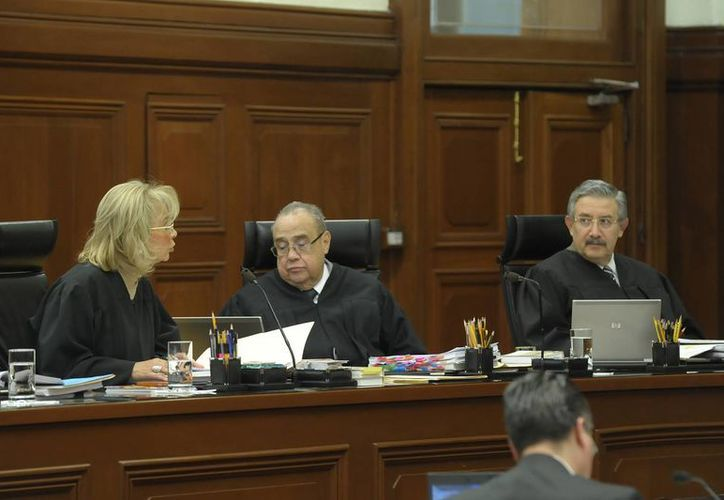 Los ministros de la Segunda Sala de la SCJN negaron por unanimidad de votos un amparo. (Archivo/Notimex)