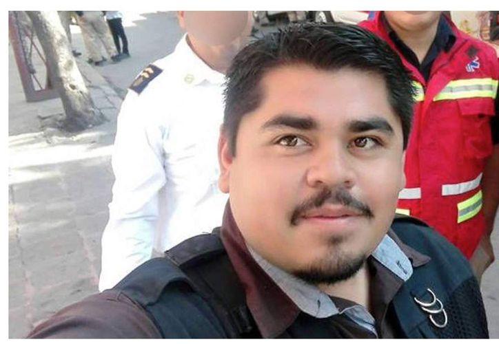 Édgar Daniel Esqueda Castro fue localizado sin vida y con signos de tortura. (Twitter).