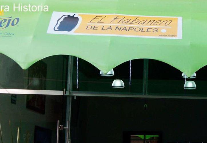 El restaurante El Habanero es uno de los negocios que se encuentran en la lista negra del Departamento del Tesoro de EU. (elhabanero.net)