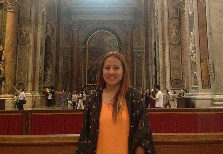 La joven se encontraba de intercambio académico en Santiago. (Twitter.com/@luisledesma8)