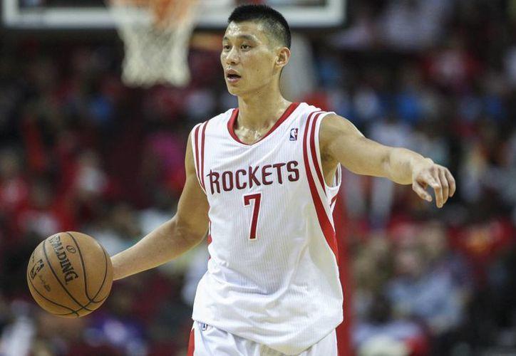 Jeremy Lin estaba en el último año de su contrato con Rockets. (fancloud.com)