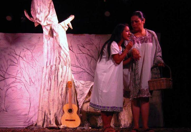 Después de su participación en el Festival de Teatro Wilberto Cantón, 'Terror en el Mayab' iniciará su tercera temporada en el Foro Cultural de la Diversidad de la Ciudad de México. (Imagen tomada del Facebook Terror en el Mayab)