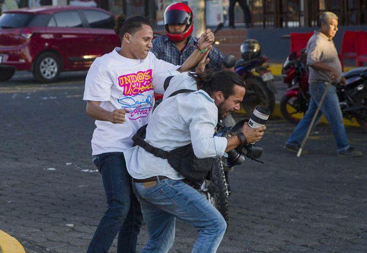 Condena prensa internacional agresiones contra periodistas en Nicaragua. (Foto: Agenciasnn)