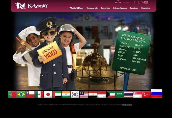 Un parque diseñado para niños, donde los adultos también se divierten. (kidzania.com)
