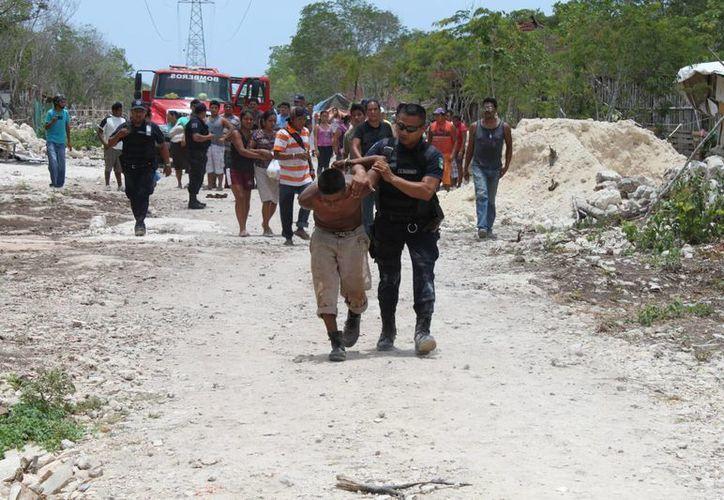 Los habitantes indican que los problemas no terminan en la zona. (Adrián Barreto/SIPSE)
