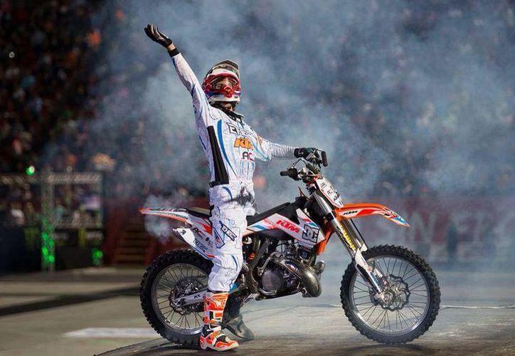 El Motocross Freestyle cautivará al público cancunense. (Ángel Villegas/SIPSE)