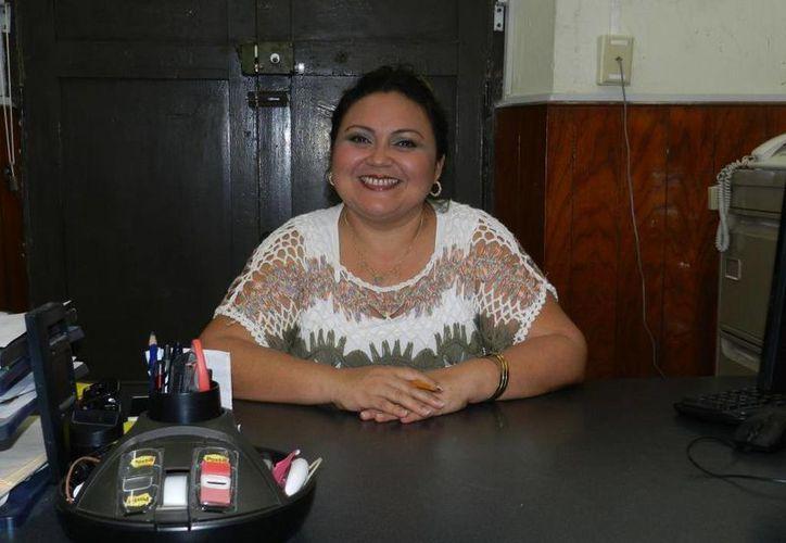 La nueva titular de la Secretaría de Finanzas y Administración del PRI, Celia Mercedes Solís Che, era subtitular del área. (SIPSE)