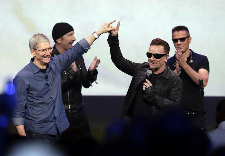 El disco 'Songs of Innocence' de U2 podrá ser descargado de manera gratuita hasta el 13 de octubre. (AP)