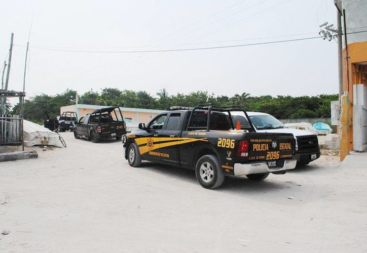 Numerosos agentes de la SSP se presentaron al lugar del asalto. (Milenio Novedades)