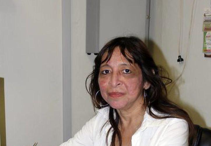 Flor Santana Zapata,  presidenta de Dona Esperanza, afirmó que es gratificante el impacto que provoca en los jóvenes un trasplante, la donación de órganos y la enfermedad renal. (Milenio Novedades)
