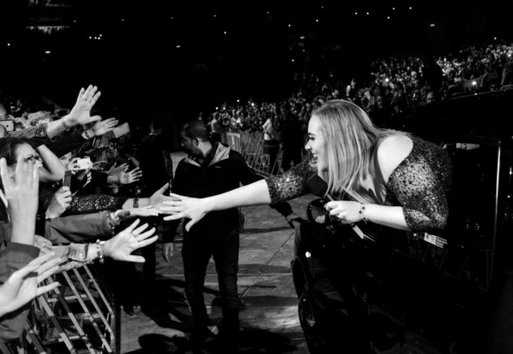 Durante su gira actual Adele ha dado conciertos en Europa, Estados Unidos, Australia y Nueva Zelanda. (Adele Union)
