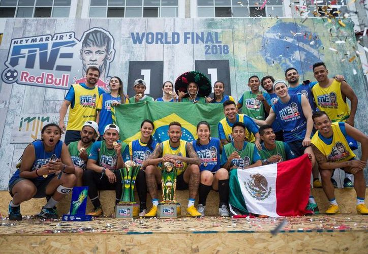 En la categoría masculina del torneo, el combinado mexicano se consagró como el gran ganador, y en la rama femenil, Brasil. (Facebook)