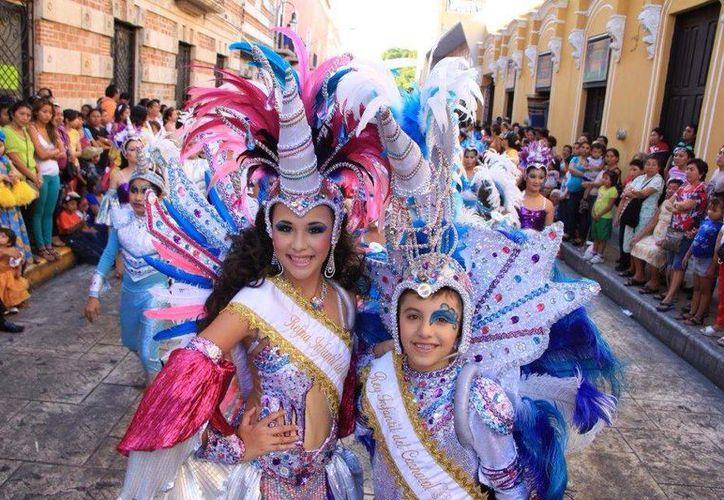 El Carnaval de Mérida se realizó durante 40 años en el Paseo de Montejo. (Facebook)