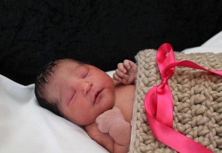 La bebé hallada en Texas luego que su madre fue asesinada en Wichita, Kansas. (Wichita Police vía AP)