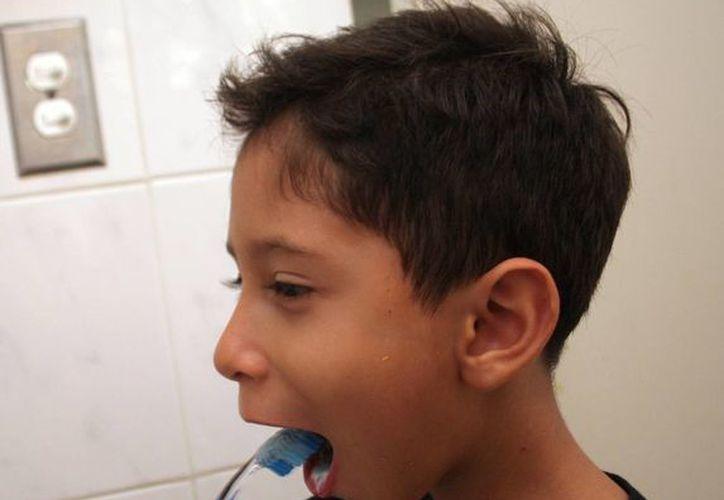 Desde niños se debe enseñar la higiene bucal. (Milenio Novedades)