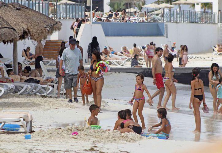 El tiempo compartido atrae a gran parte del turismo repetitivo. (Jesús Tijerina/SIPSE)